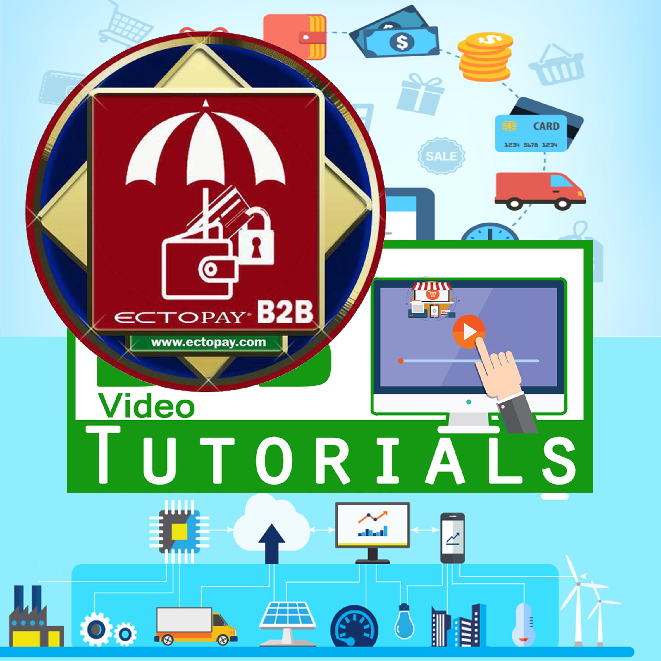 ECTOPAY B2B Video Tutorials