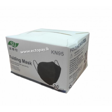 KN 95 FOLDING FASE MASK LOOP (20pcs)